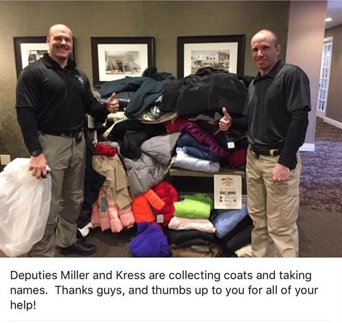 Real Estate One Is An Official Sponsor of Coats For The Cold - We Had a Huge Outpouring of Coats from the Community!!