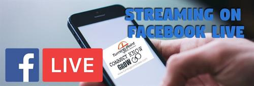 Facebook Live Streaming Sundays at 11:30 a.m.