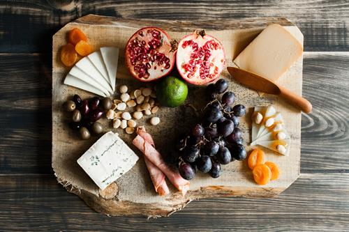 We can arrange a beautiful cheese board for your next gathering!