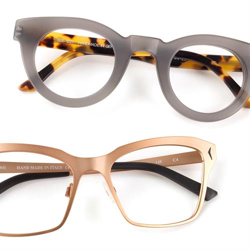 Handcrafted eyewear from $169