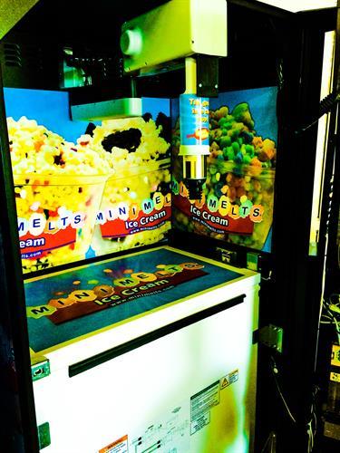 Inside our Evolution Vending Kiosk