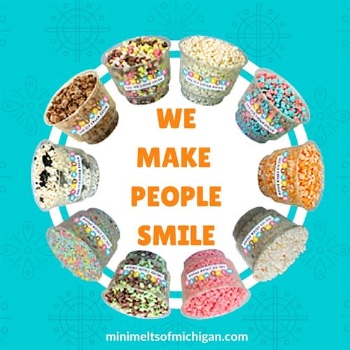 "Our mission statement ""We Make People Smile!"""