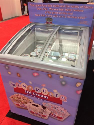Mini Melts Serving Freezer