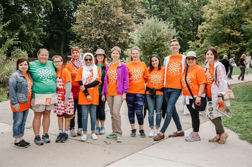 Volunteers at the Annual Art & Apples Festival