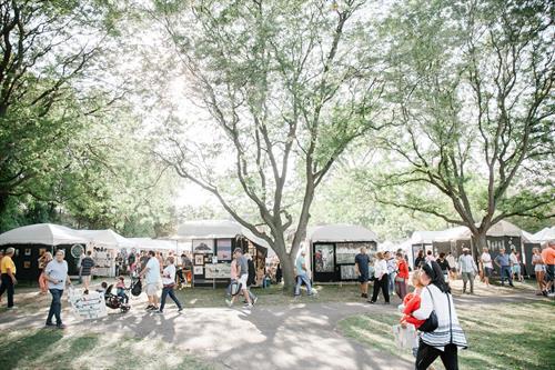 Annual Art & Apples Festival at Rochester Municipal Park