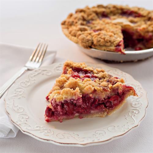Homemade pies made fresh daily using Michigan fruit