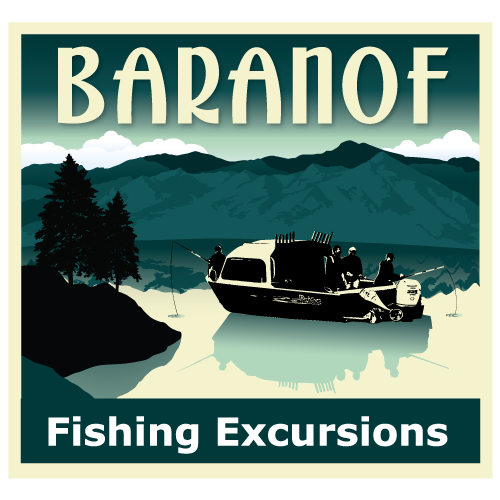 Baranof Fishing Excursion Logo