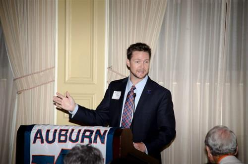 Speaking at Tampa Bay Auburn Club Back To School Event