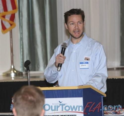 Speaking at Wesley Chapel Chamber