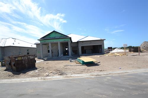 New construction site visit