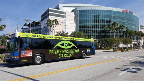 Tampa Private Investigator - Bus