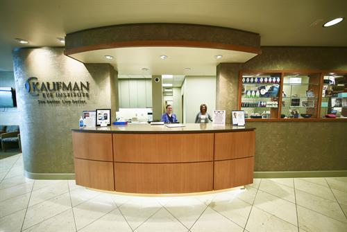 Kaufman Eye Institute Wesley Chapel Front desk