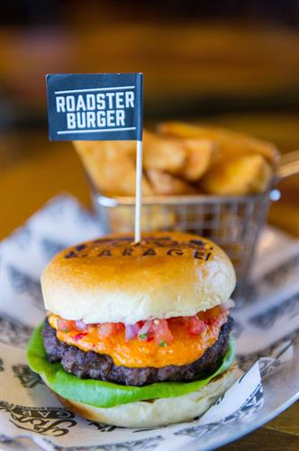 The Pimento Roadster Burger