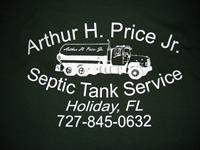 Arthur H Price Jr Septic Service