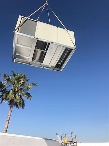 Commercial Roof Top Unit - Sacramento California