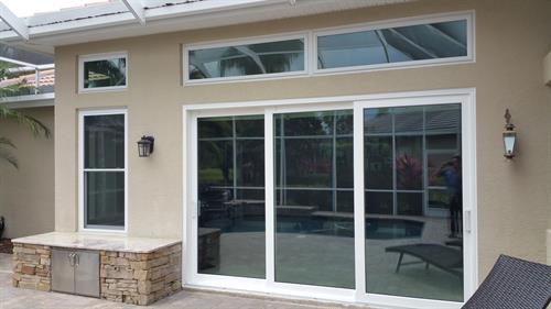 Picture Window, Sliding Glass Doors