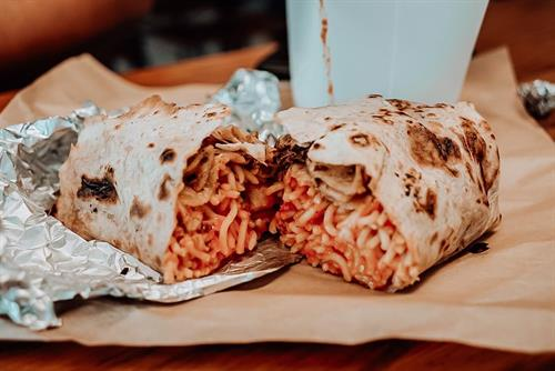 Chicken Parm Piadina