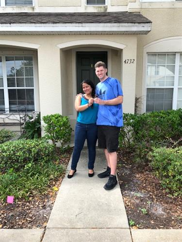 Another Happy Buyer with their Keys!