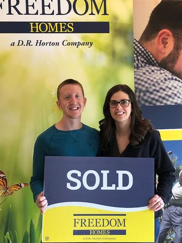 Happy Hoem Owners of New Construction