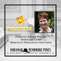 2019 Pinacle Award Winning for the Weston Florida Chamber of Commerce