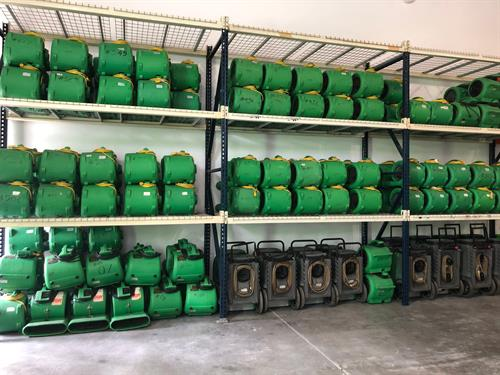 Wall and Walls of Green Machines