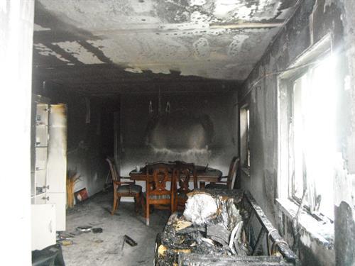 Fire damages