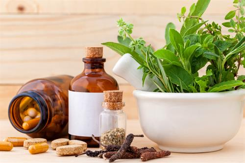 Herbs, Homeopathics, and CBD Medicinals