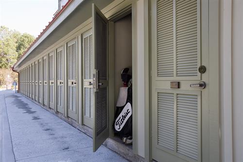 Individual Storage for Golf, Sports and Beach Equipment