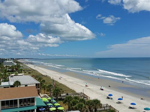 7 miles of soft sandy beach