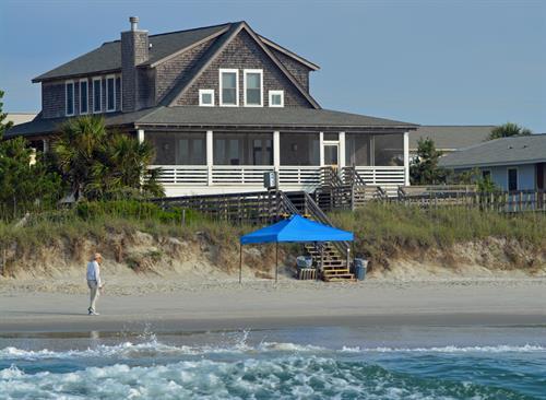 Beach house on Litchfield Beach