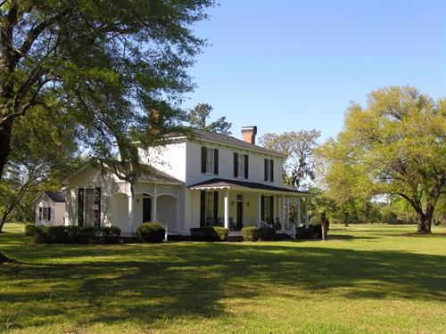 Plantation home in Georgetown County SC