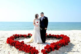 Beach front weddings