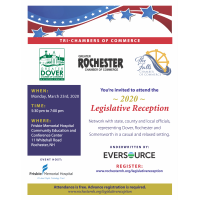 CANCELLED 2020 Tri-Chamber Legislative Reception