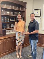 Caitlyn Turgeon Awarded Agent of the Quarter from Hanover Insurance