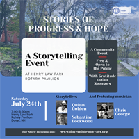 Stories of Progress and Hope: A community event open to the public!