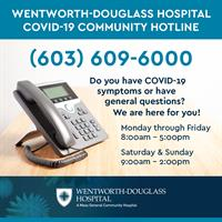 Wentworth-Douglass Hospital Opens Community COVID-19 Hotline and  Respiratory Illness Clinics