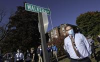 'Walker Way' unveiled at Wentworth-Douglass Hospital