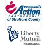 Community Action Partnership of Strafford County Teams Up with Liberty Mutual Insurance on Boxed Lunch Distribution