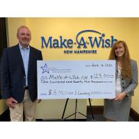 The Partnership of New Hampshire Credit Unions Presents $125K Donation to Make-A-Wish