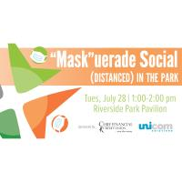 """Mask""uerade Social (Distanced) in the Park"