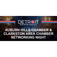 Detroit Pistons Chamber Networking Night