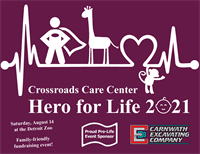 Crossroads Care Center's Hero for Life at the Detroit Zoo
