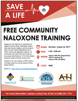 Free Community Naloxone Training