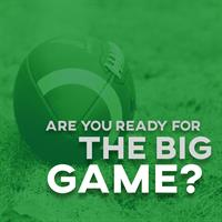 Are you ready for the Big Game?