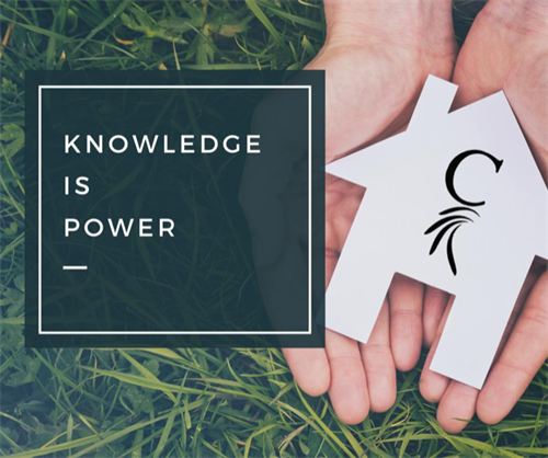 Knowledge is Power when it comes to home buying!