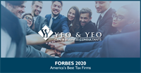 Forbes Names Yeo & Yeo to 2020 List of Top Recommended Tax and Accounting Firms