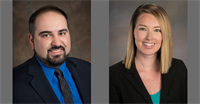 Yeo & Yeo Promotes Zaher Basha and Taylor Diener
