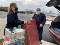 Chief Financial Credit Union gave back in a big way during the 2020 holiday season