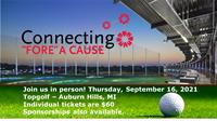 Connection 'Fore' a Cause: Community Housing Network Golf Fundraiser held at Top Golf, September 16