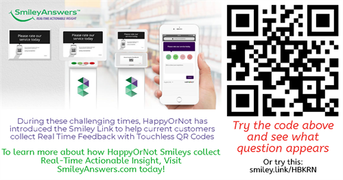 The New Smiley Link to #GoTouchless